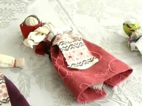 Как сделать куклу мотанку