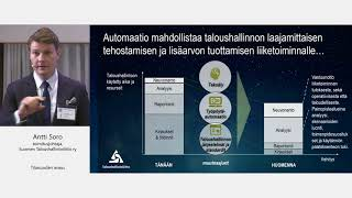 Taloushallintoliiton Antti Soro: Tilitoimiston tulevaisuus