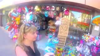 Лазаревское 2018 июнь /Аттракцион КАМАЗ / Цены / Путешествие с двойняшками (1 видео)