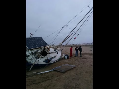 Strand your sailboat in Morocco and refit it