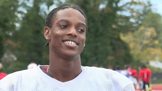 NFA's Pierre Louis stays humble through all the success