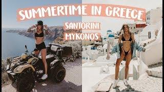 GREECE TRAVEL VLOG   Meg Showell