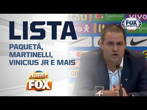 PAQUETÁ, MARTINELLI, VINICIUS JR E MAIS; Confira a lista completa da Seleção Olímpica para amistosos