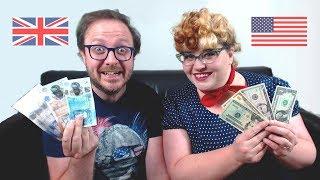 Comparing American and British Money