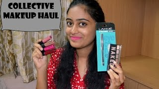 Image for video on Collective Makeup Haul | Lakme, Maybelline and more! by nailz4fun