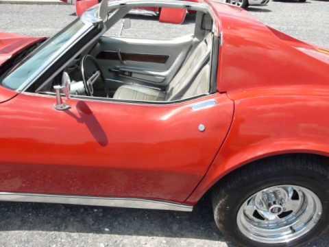 1975 Red Corvette Silver Int Video