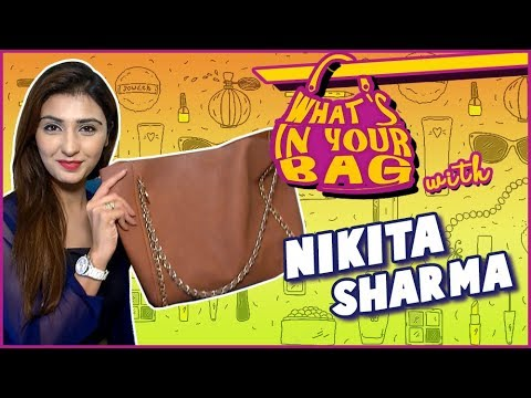 NIKITA SHARMA aka Goddess Lakshmi's Handbag SECRET