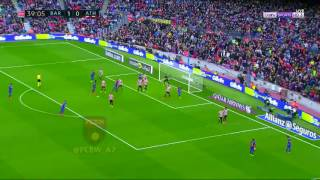 Leo Messi unbelievable free kick goal vs Athletic Bilbao 201 HD 4/2/2017