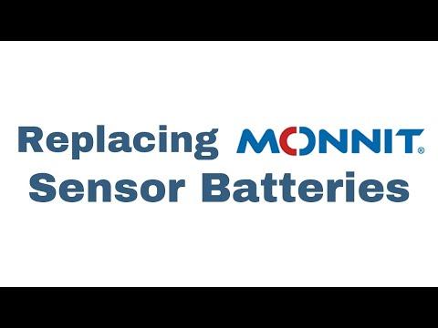 replacing sensor batteries