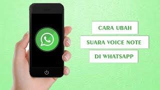 Cara Ubah Suara Unik dan Aneh Voice Note di WhatsApp, dari Alien hingga Hantu