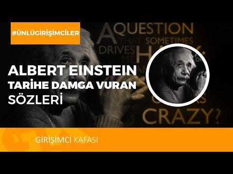 Alber Einstein -  Tarihe Damga Vuran Sözleri