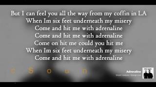 Simple Creatures | Adrenaline (Lyrics)