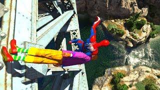 GTA 5 Epic Ragdolls/Spiderman Compilation vol.21 (GTA 5, Euphoria Physics, Fails, Funny Moments)