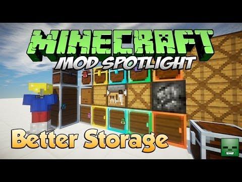 Minecraft Mods: Better Storage [Forge][1.6.4]