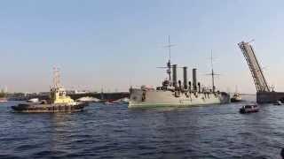 Крейсер Аврора 21.09.2014