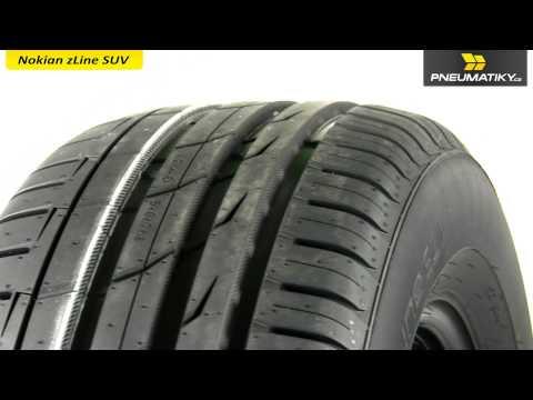 Youtube Nokian zLine SUV 255/60 R18 112 V XL Letní