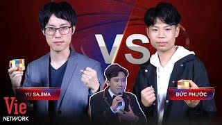 Rớt tim trước màn tỉ thí xoay rubik thần tốc của Đức Phước và Yu Sajima l Siêu Trí Tuệ Việt Nam #11
