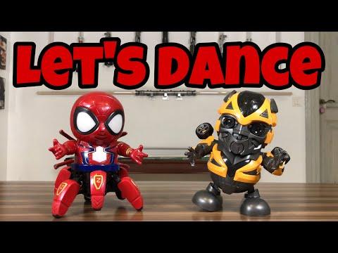 [ENG SUB] Dancing Iron Spider & Bumblebee
