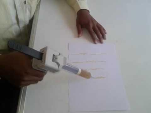 Syringe Caulking Gun