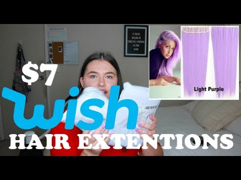 acc45a6e4 WEARING WISH HAIR EXTENSIONS FOR A WEEK - Dakotah Tosh