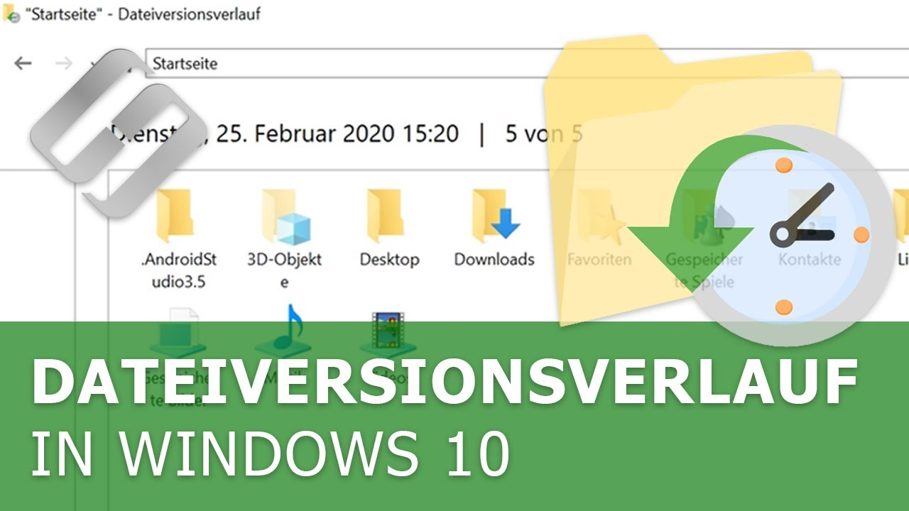Aktivierung oder Deaktivierung des Dateiversionsverlaufs in Windows 10 und 8, der Datensicherung