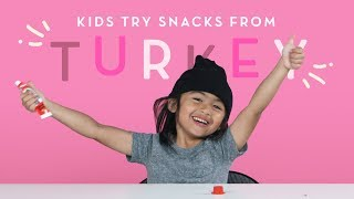 Kids Try Snacks from Turkey | Kids Try | HiHo Kids