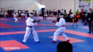 Camp. Nac. Karaté Juvenil Kumite -40Kg - André Garcia (1ªeliminatória)
