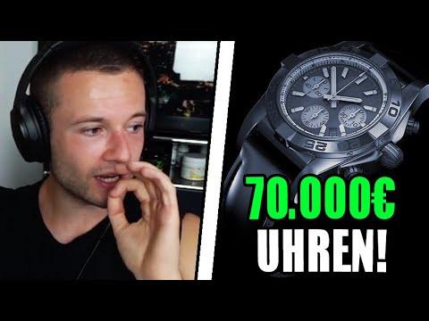 70.000€ UHREN SAMMLUNG 😱 200.000€ FÜR EIN AUTO? ❘ Inscope21 Realtalk