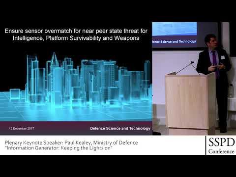 SSPD 2017 Videos | Sensor Signal Processing for Defence