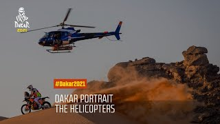 DAKAR2021 - Stage 12 - The helicopters