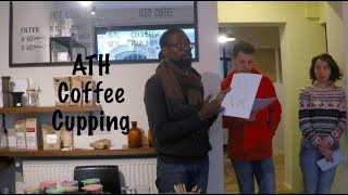 How to Taste Coffee; Arabica Trading House Cupping | ExpatsEverywhere