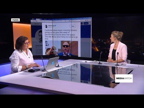 Infowars' social media battle