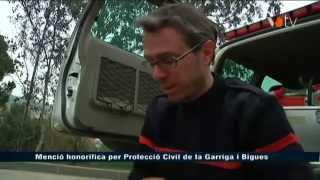 preview picture of video 'Menció honorífica per Protecció Civil de Bigues i Riells i la Garriga'