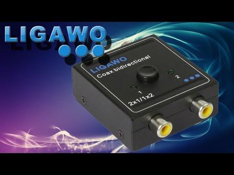 Hardware - Ligawo POCKET SPDIF Koaxial Umschalter/ Coax Switch bidirektional 1x2/ 2x1
