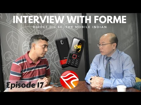 Indians Still Need Feature Phones: Forme