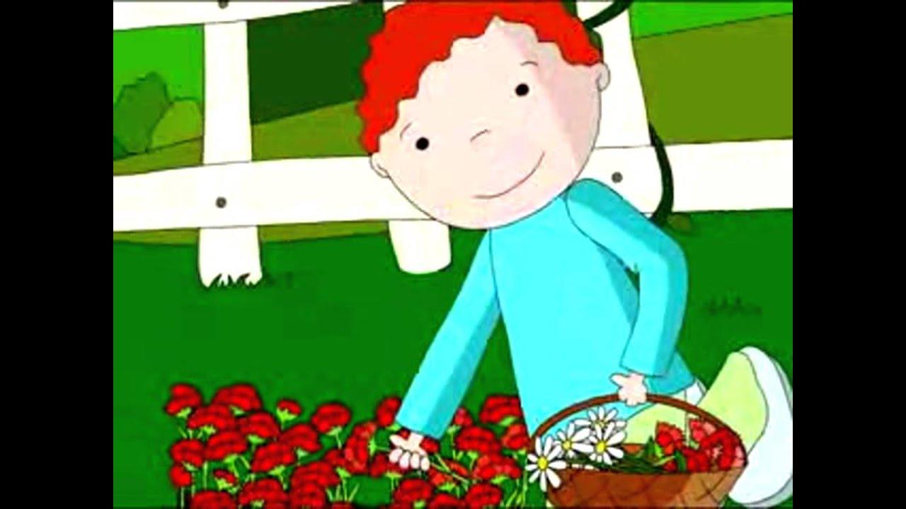 La Cesta de Flores. Cuento Infantil.