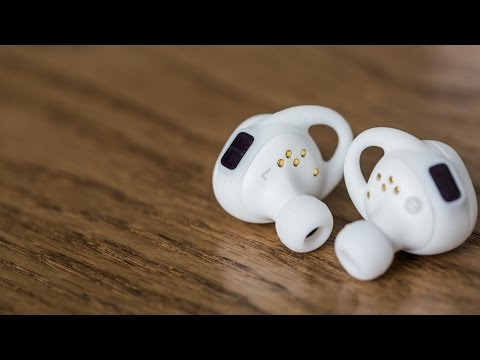 Samsung's Gear IconX wireless earbuds