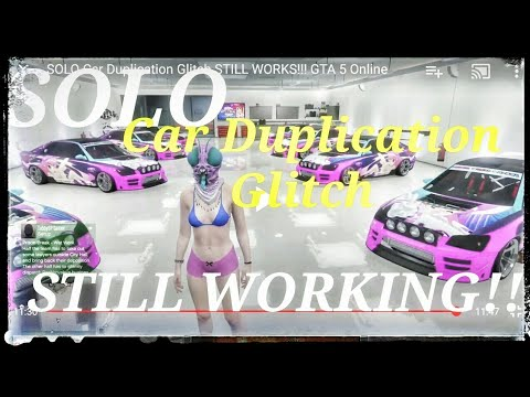 SOLO Car Duplication Glitch Unlimited Money **PATCHED** GTA 5 Online
