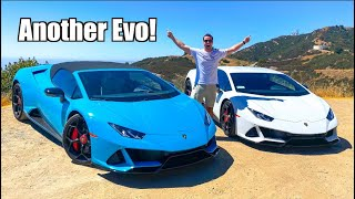 Taking Delivery of A NEW 2020 Lamborghini Huracan Evo Coupe!  *And Then RACING It!*
