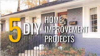 5 Clever DIY Home Improvement Ideas ♡ MissJustinaMarie