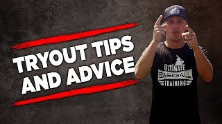 Baseball Tryout Tips and Advice! (MAKE THE TEAM!)