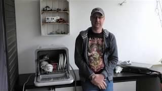 Camping Geschirrspüler Bomann TSG 7402 Review und Test Dishwasher