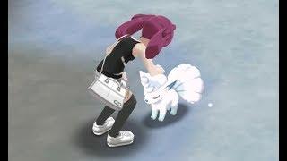 Rockruff  - (Pokémon) - Pokemon Ultra Sun and Ultra Moon - All Pettable/Interactive Pokemon in Alola