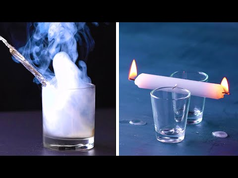 "12 Cool Science Tricks That Will Make Your Friends Go ""Omg! How?"" DIY Tricks & Life Hacks by Blossom"