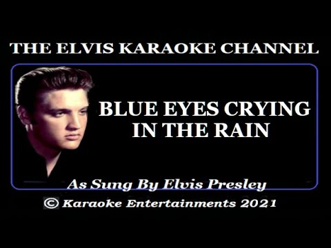 The Country Side Of Elvis Blue Eyes Crying In The Rain