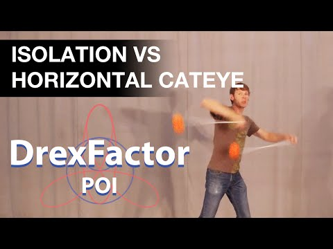 Poi Tutorial: Isolation Vs Horizontal Cateye