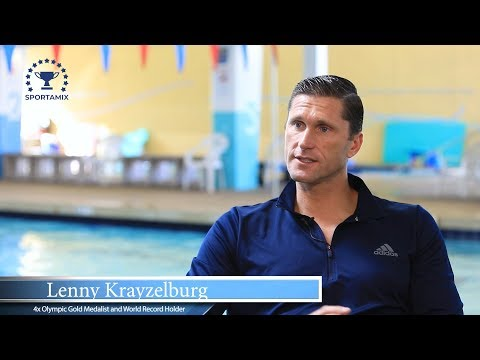 Lenny Krayzelburg, four-time Olympic gold medalist, discusses the benefits of Sportamix