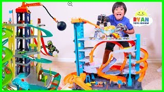 NEW Hot Wheels Ultimate Garage Playset with Shark + Ryan