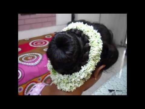 Download A Traditional Indian Bun Hairstyle Bridal Hairstyle