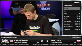Pro Tour Magic 2015 - Round 7 (Standard) - Conley Woods vs. Ivan Floch